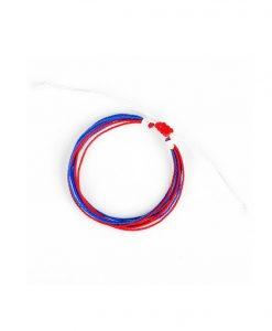 goede doel, armband, awareness, autisme, touw armband, rood, blauw