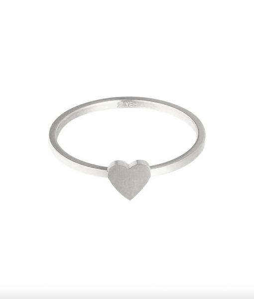 Minimalistische Ring Hart