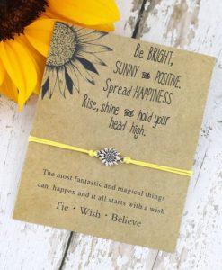 Touw Armband Sunflower