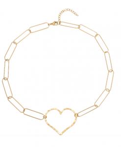 chain ketting, schakel, hartje, stainless steel, roest vrij staal, rvs, nikkel vrij, dames, sieraden