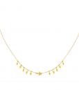 ketting met hangers, stainless steel, roest vrij staal, rvs, nikkel vrij, dames, sieraden, accessoires, jewellery