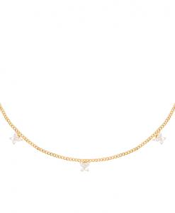 ketting, hanger, vlinders, goldplated,14k, sieraden, accessoires, goud, vlinder