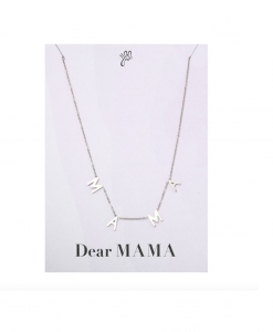 mama ketting, stainless steel, sieraden, dames, accessoires,