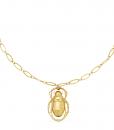 chain ketting, schakelketting, kever, stainless steel, rvs, roest vrij staal, dames, sieraden, accessoires, jewellery
