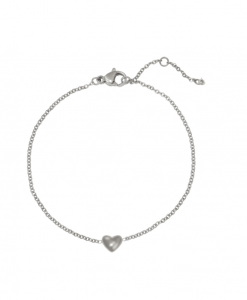 fijne armband, hartje, stainless steel, rvs, roest vrij staal, sieraden, accessoires, dames