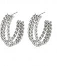 hoop oorbellen, rvs, roest vrij staal, stainless steel, sieraden, jewellery, accessoires, chain, nikkel vrij