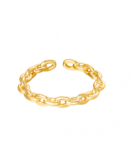 Ring Gold Plated, dames