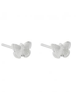 stud earrings, butterfly, jewellery, stainless steel, nickel free, women