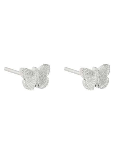 Stud earrings butterfly