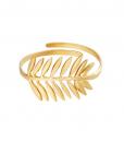 verstelbare ring, blad, stainless steel, rvs, roestvrij staal, sieraden, accessoires, dames, jewellery