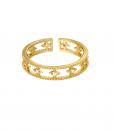 verstelbare , ring, zirkonia, kristal, diamant, nikkel vrij, dames, sieraden, jewellery