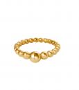 stainless steel ring, bolletjes, balletjes, rvs, roest vrij staal, sieraden, accessoires, nikkel vrij, minimalistische ring