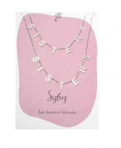 zussen, sisters, kettingen, set, relatie, sieraden, accessoires, dames, cadeau