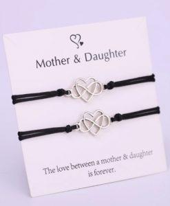 moeder dochter, armbanden, set, sieraden, dames, relatie, accessoires