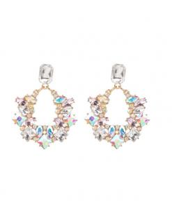 diamanten oorbellen, groot, statement, kristallen, zirkonia, sieraden, dames, accessoires