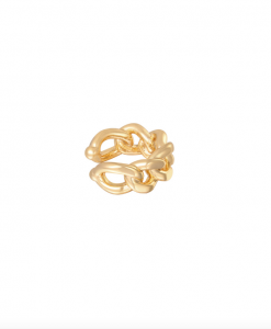 ear cuff, chain, gold plated, sieraden, dames, accessoires, nikkelvrij