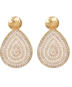grote oorbellen, parels, diamanten, kristallen, statement, sieraden, dames, accessoires