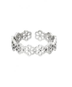 stainless steel, ring, ringen, sieraden, dames, accessoires, roestvrij staal, nikkelvrij, bloemen