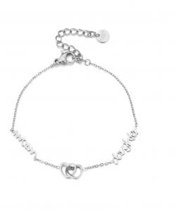 moeder dochter armbanden set, sieraden, dames, accessoires, stainless steel, roestvrij staal, nikkelvrij