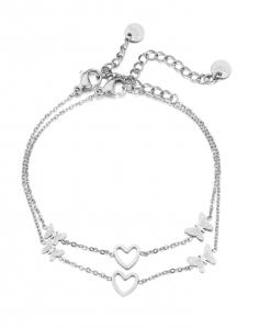 moeder dochter, armbanden set, vlinders, hartje, sieraden, moederdag, stainless steel, roestvrij staal, nikkelvrij