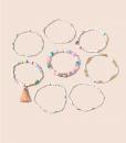 armcandy, set, armbandjes, kralen, armparty, gekleurde, kleurrijk, dames
