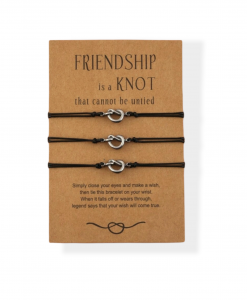 bff armbanden, voor 3, set, vriendschap, sieraden, dames, accessoires, cadeau