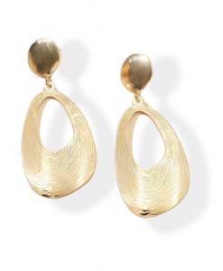 grote, oorhangers, groot, goud, sieraden, dames, accessoires