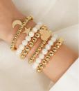 kralen armbanden, set, hanger, maan, ster, hartje, sieraden, dames, accessoires