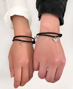 liefdes armband, koppel, hartje, relatie, hem en haar, sieraden, accessoires, vriendin, valentijn