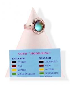mood ring, rond, kleur veranderende ring, sieraden, dames, accessoires, gevoel